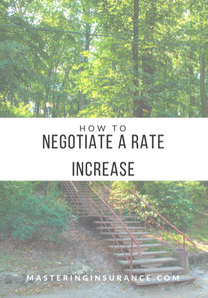 Negotiating a rate increase